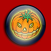 Button - Pumpkin